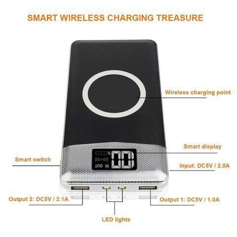 QI Wireless Power Bank
