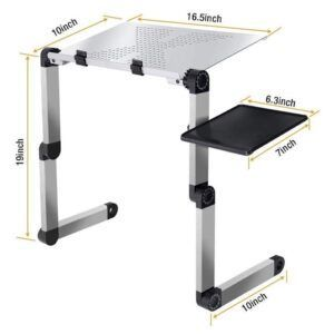 Adjustable Folding Laptop Table
